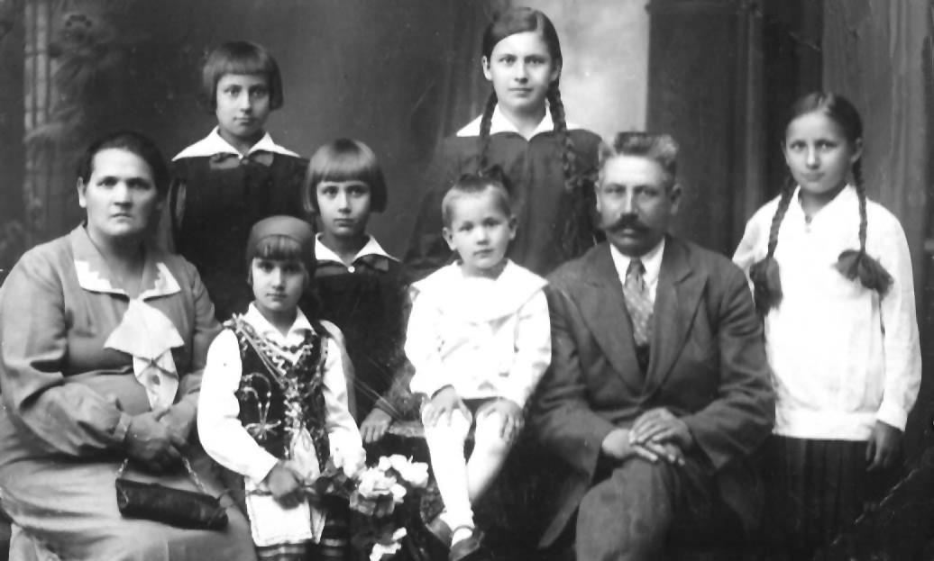 Rodzina Witolda brata Taty