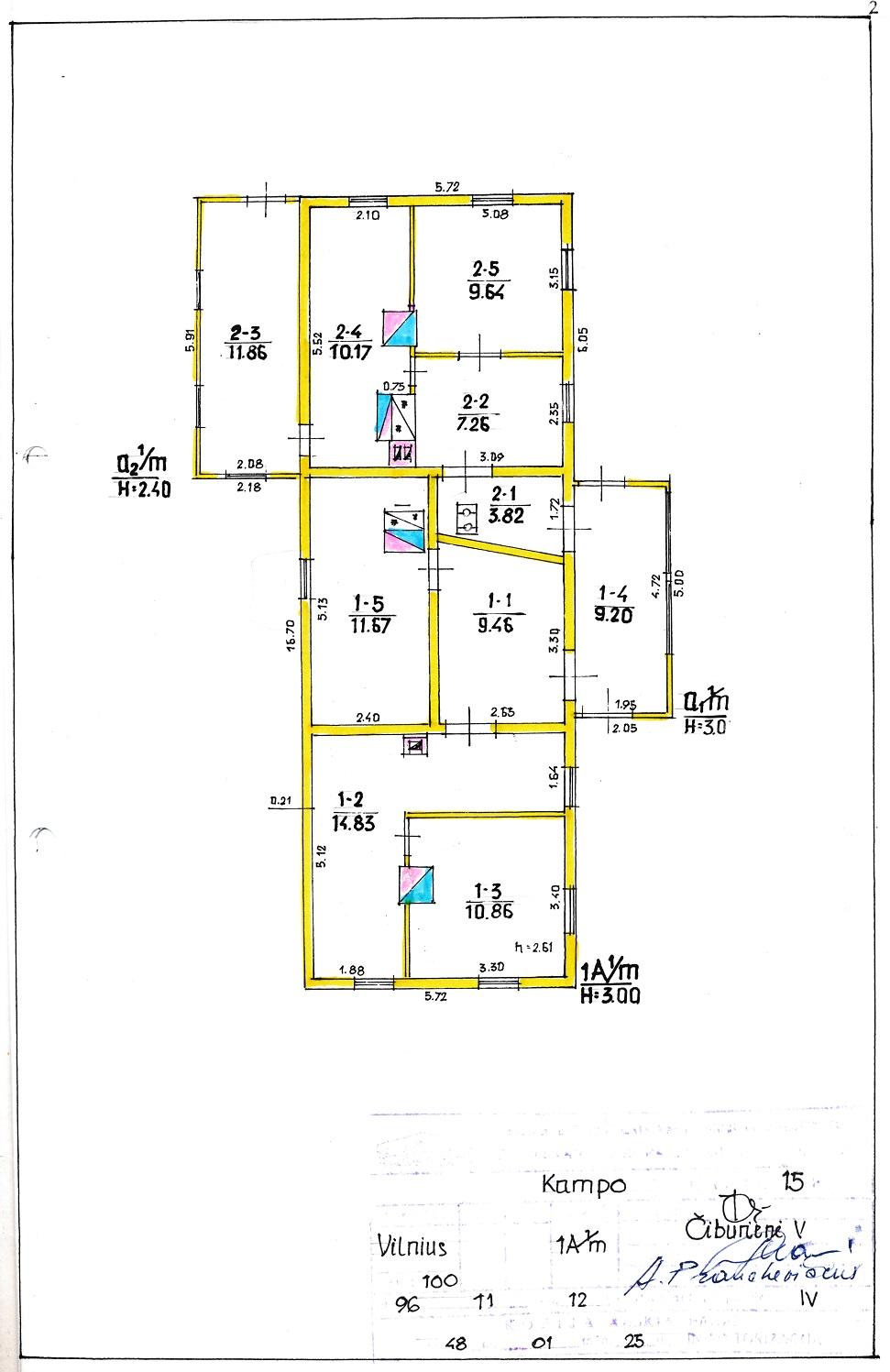 plan domu 2
